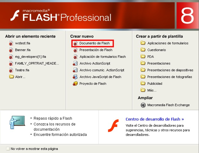 Documento de Flash