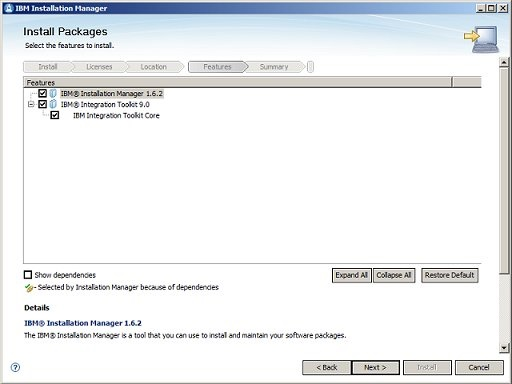 Installation Manager 6/8