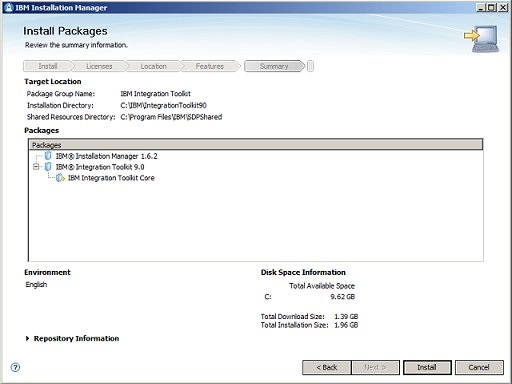 Installation Manager 7/8